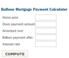 balloon calculator graphic spurr mortgage